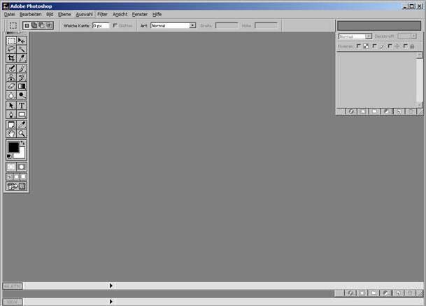 1.6 Der Photoshop Arbeitsraum