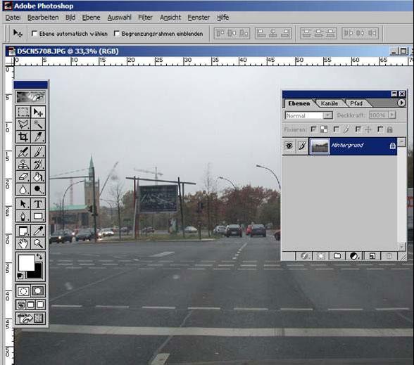Adopbe Photoshop Lineale und Hilfslinien I 4.1