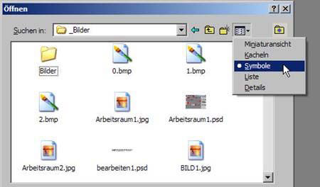 Datei öffnen 8.10