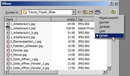 Datei öffnen 8.12