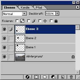 Adobe Photoshop Ebene duplizieren 11.49