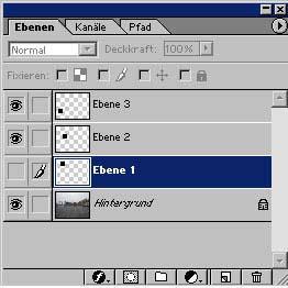 Adobe Photoshop Ebene duplizieren 11.50