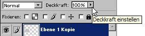 Adobe Photoshop Ebene duplizieren 11.58
