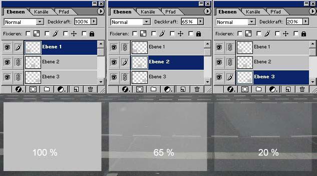 Adobe Photoshop Ebene duplizieren 11.60