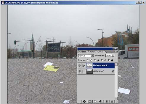Adobe Photoshop Ebene duplizieren 11.68