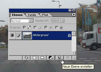Ebenen in Adobe Photoshop 11.7