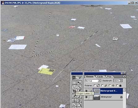 Adobe Photoshop Ebene duplizieren 11.72