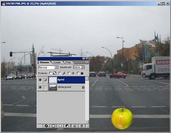 Adobe Photoshop Deckkraft 11.84