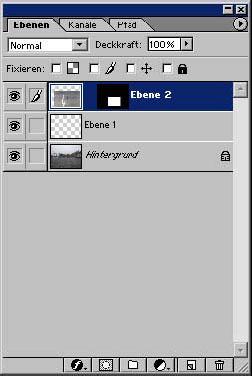 Arbeiten in einem Auswahlbereich von Adobe Photoshop 12.7