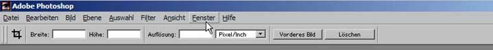 Schrift ins Foto mit Adobe Photoshop einfuegen 14.49