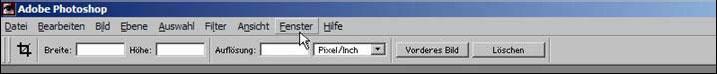 Schrift ins Foto mit Adobe Photoshop einfuegen 14.50