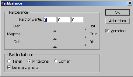 Bildkorrekturen digitaler Fotos mit Adobe Photoshop 18.16