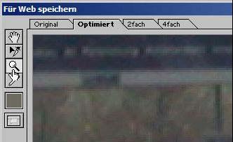 Bilder fuer das Web Internet speichern mit Adobe Photoshop 19.16